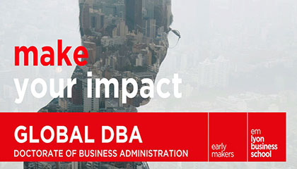 Leading Leader's Career… In Search Meaning of Life -emlyon Global DBA Information Session